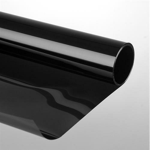 Zwart Statische Raamfolie Glans 30 5 X 100 Cm Krea2day